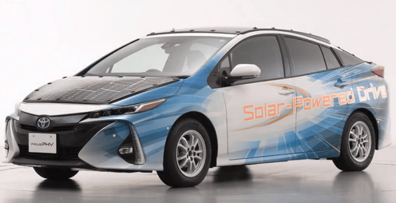 New Solar Powered Toyota Electric Car You Can Drive without Charging