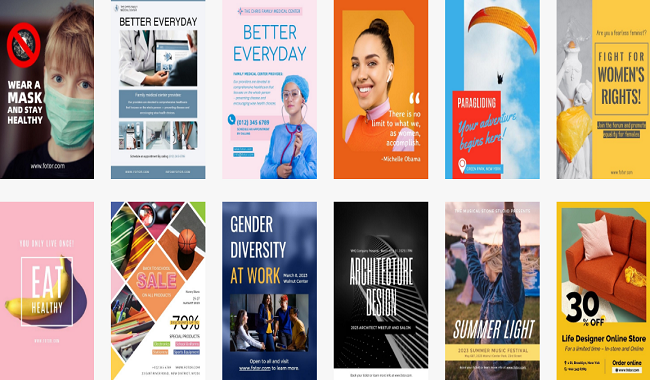 7 Free User-friendly Online Poster Making Tools