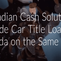 Best Car Title Loans Financial Aids Provider in Canada