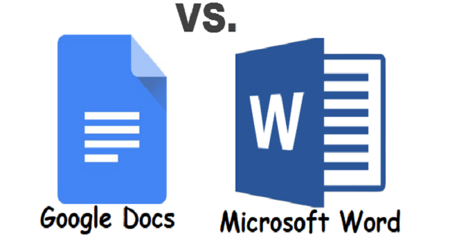 Google Docs vs. Microsoft Word