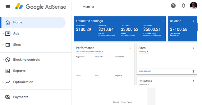 Earn from Google Adsense As a Blogger