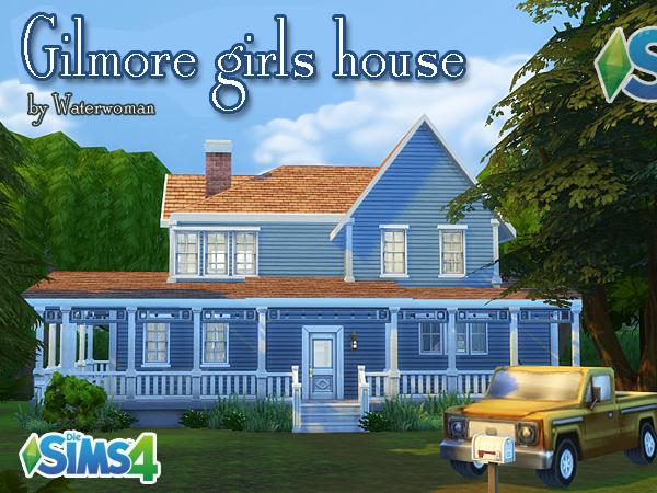 gilmore girls house tv show. Black Bedroom Furniture Sets. Home Design Ideas