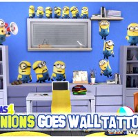 Minions goes Walltattoos