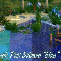 "Fresh Pool Colours ""blau"""