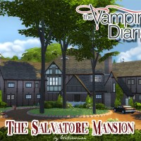 The Vampire Diaries - Salvatore Mansion