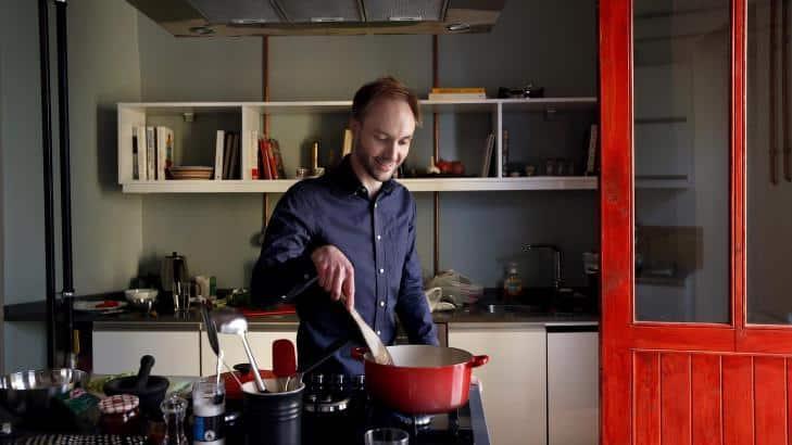 Vidar Bergum - A kitchen in Istanbul