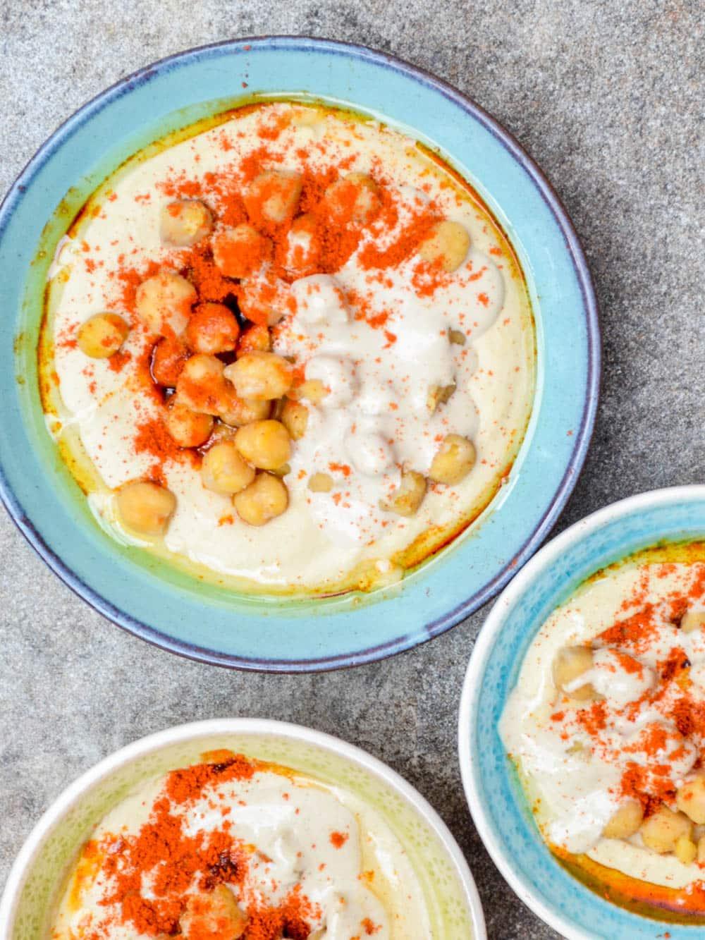 Hummus msabbaha - recipe / A kitchen in Istanbul