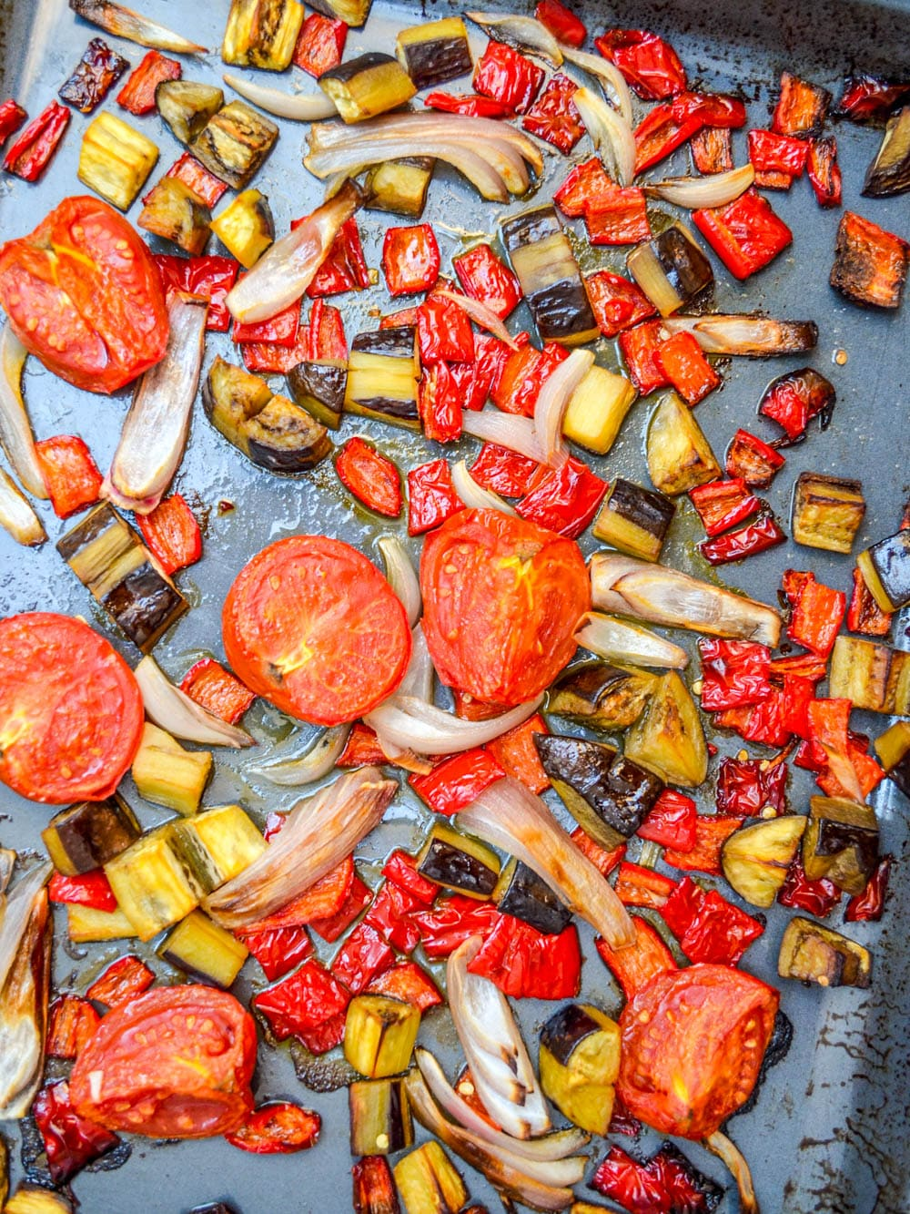 Roasted caponata - recipe / A kitchen in Istanbul