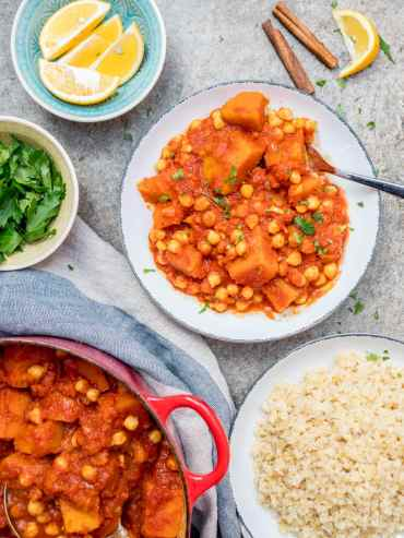 Pumpkin & chickpea stew - recipe / A kitchen in Istanbul