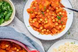 Pumpkin & chickpea stew - recipe / A kitchen in Istanbul