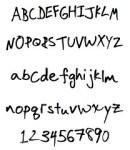 こんなふうに筆跡診断しています