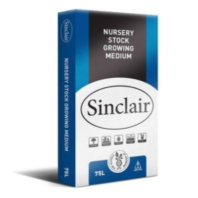 Sinclair Nursery Stock Growing Medium 75ltr - AK Kin Garden Supplies