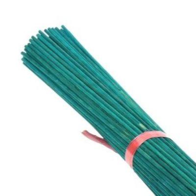 """100x 24"""" Green Garden Split Canes - AK Kin Garden Supplies"""