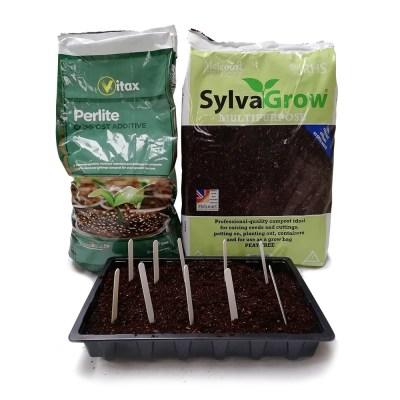 Seeding Compost Kit With Perlite | AK Kin Garden Supplies