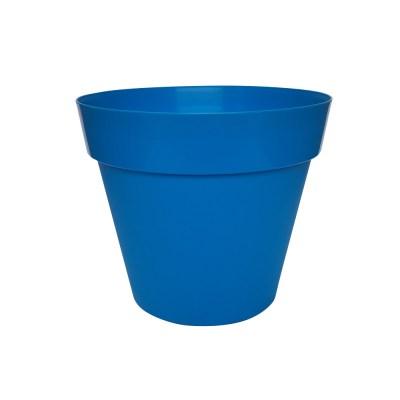 Trends Collection 26cm Blue Decorative Garden Plant Pot
