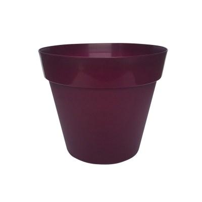 Trends Collection 26cm Burgundy Decorative Garden Plant Pot