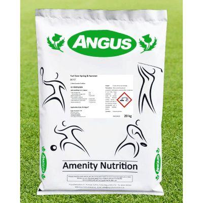 Angus Turf Care Fertiliser Spring Summer 9-7-7 25kg bag