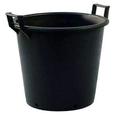 75lt Extra Large Heavy Duty Plastic Tree & Shrub Container Plant Pot with Handles 56 x 48