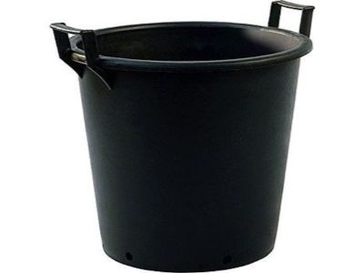 155lt Extra Large Heavy Duty Plastic Tree & Shrub Container Plant Pots with Handles 75 x 51