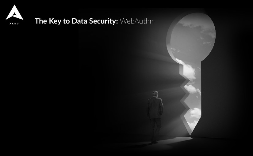 The Key to Data Security: WebAuthn