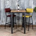 Tall Industrial Restaurant Tables Akku Art Exports