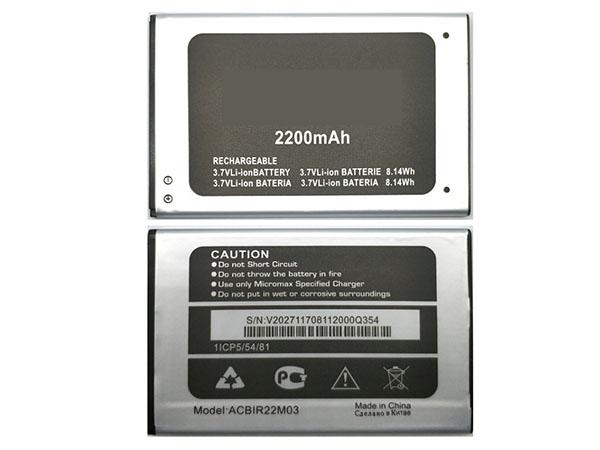 LAPTOP-BATTERIE Micromax ACBIR22M03