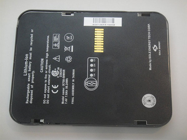 LAPTOP-BATTERIE Itronix IX750-59WHR