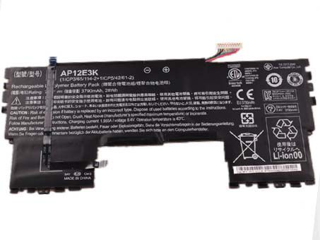 LAPTOP-BATTERIE Acer AP12E3K