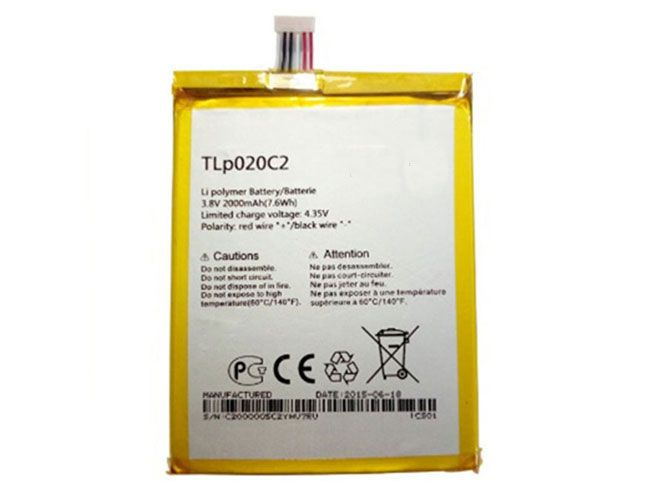 ALCATEL TLP020C2 Akku