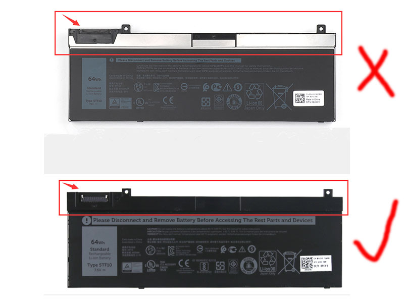 LAPTOP-BATTERIE Dell 5TF10