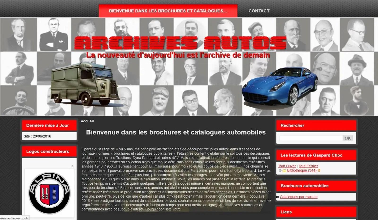 Archives Autos - Brochures et catalogues automobiles