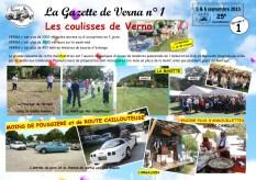 La Gazette de Verna 1 - les coulisses de Verna-1