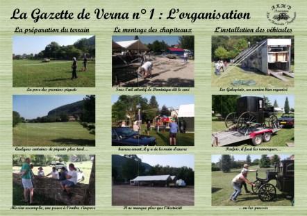 La Gazette de Verna 1 - l'organisation-1
