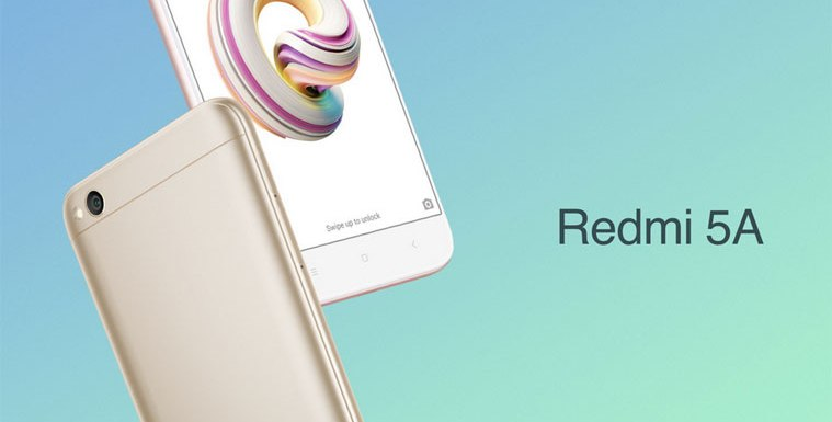 Xiomi Redmi 5A With 13 Megapixel Camera Launched In India