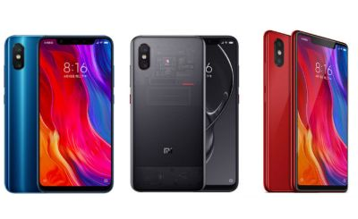 Mi 8 Mobile With 8GB RAM And 256 GB in-built storage
