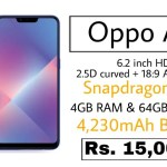 Oppo A5 With 6.2 Inch Display Dual Rear Camera Setup