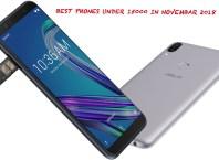 Best phones Under Rs 15000 November 2018 In India