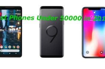 Top 10 Best Phones Under Rs 50000