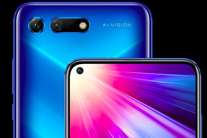 Honor View 20 With Hole Punch Selfie Display