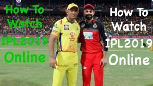 IPL Live Telecast 2019: How To Watch IPL Online