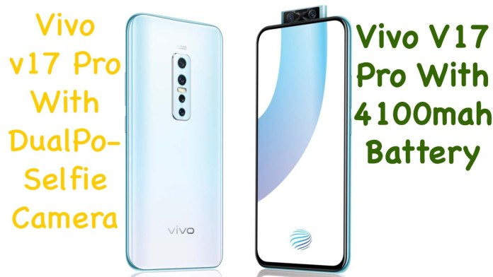 Vivo V17 Pro With Dual Pop Selfie Camera