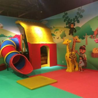 school indoor play area manufcturer