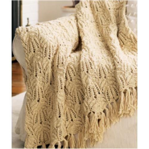 Knit Aran Baby Afghan Pattern