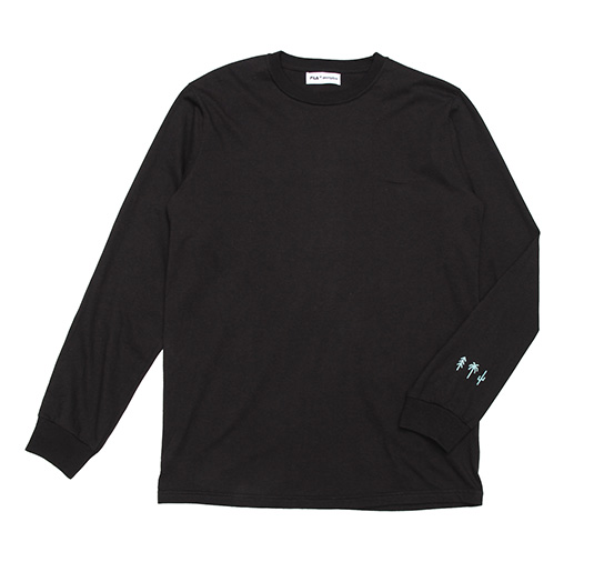 AK + FILA Flocking LS Tee 2