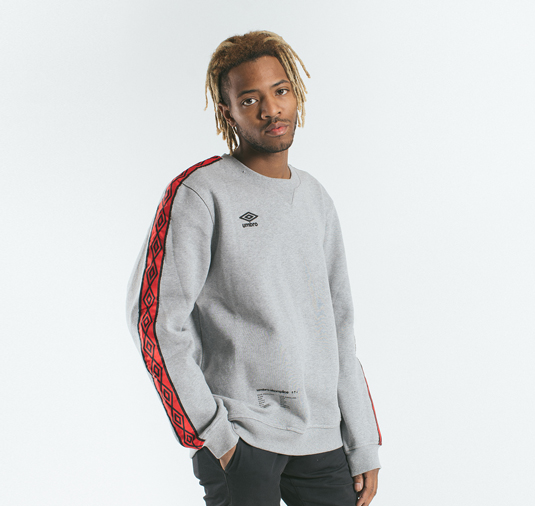 AK X UMBRO Fear Love Fleece Crewneck 13