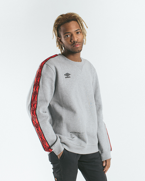 AK X UMBRO Fear Love Fleece Crewneck 1