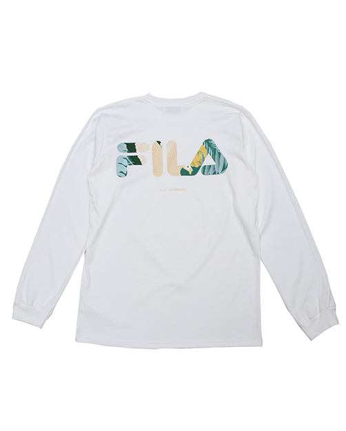 akomplice x fila flamingo long sleeve tshirt