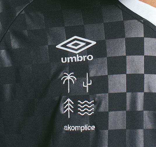 AK X UMBRO Manifest Checkerboard Jersey 9