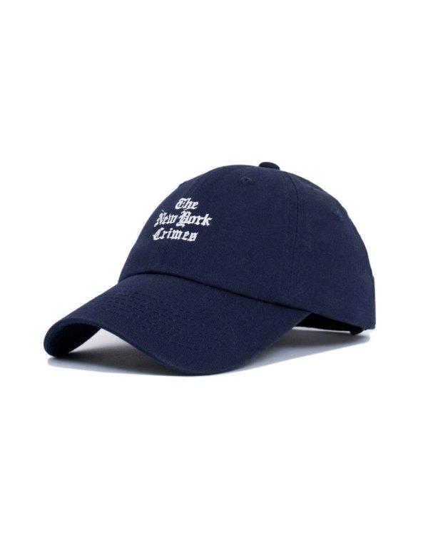 7698b4c7154 NY Crimes Hat. Black  Navy