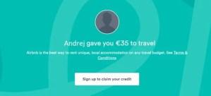 Airbnb zľava
